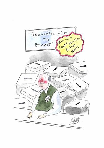 Souvenirs after the Brexit