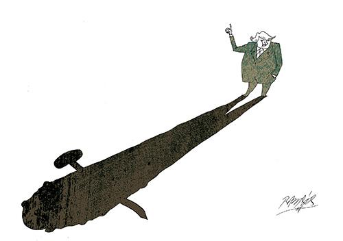 Trump shadow