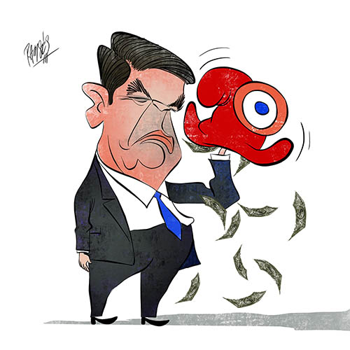 Fillon and the magic hat