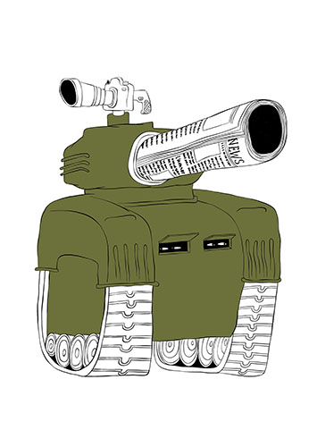 Massive Media Tank